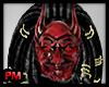 PM Devil Mardi Gras Mask