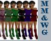 *MM* Mini Dress Green