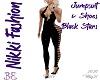 Jumpsuit & Shoes Black