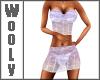 Summer fit top n skirt