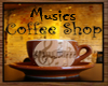 Music's Coffee Shop Sign