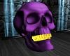 ATS~ Purple Skull w Yel
