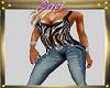~L~Jeans/Zebra Top Shoes