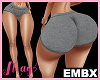 EMBXL Bimbo Short Grey