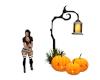 Pumpkins w/Lantern