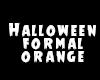 * halloween orange/black