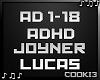 ♪C♪ ADHD Joyner