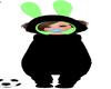 Neon Bunny Onsie F