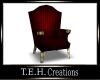 Red royal Chair