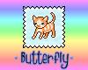 Tabby Cat Kitty Stamp
