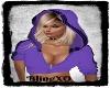 Bling Purple Hoodie