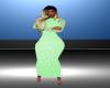 Baby Green Long Dress