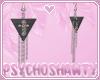 S | Cross Earrings