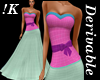 !K! Delure Bow Gown
