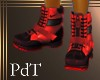PdT Gnarly Boots Red M