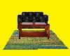 Sofa & Table Rug Set