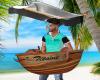 Funny boat Male