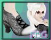 *FBG* AntiqueSilver shoe
