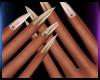 Soft Golden Nails 2
