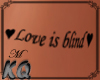 Love Is Blind Tattoo