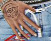 вят. hand tattoo