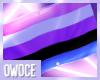 O  ┊ Genderfluid flag