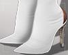 ṩ|ThighHigh Boots Wht