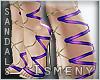 [Is] Delux Sandals Purpl