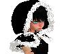 Black Scarf Hoodie