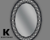 Black And Pearl Mirror