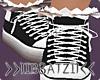 B! Black Sneakers
