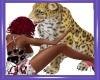 CW Petting Leopard
