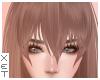 ✘ Mavis bangs brown.