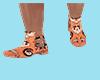 Boots Orange Skull XxXx
