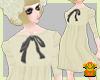 {KUNO}Knit Dress*ivory