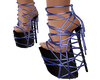 Blue Strapped Platforms