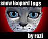 Snow Leopard Legs