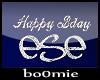 «B» Happy Bday Ese Hat