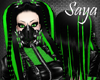 Toxic Cybergoth Hair