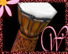 WF>Goddess Djembe Drum