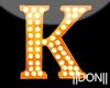 K Orange Neon Lamps
