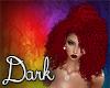 Dark Red Puffy