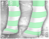 ☯StripeSocks-MINT☯