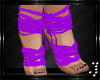 † Feet Wraps -Purple-