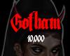 Gotham Support Sticker