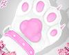 d. cat paws pink