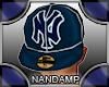 [NMP]DarkBlueFlippingHat