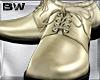 Zebra Gold Wedding Shoes