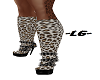 ~LG~ LEOPARD BOOTS
