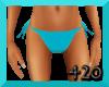 !@ Bikini Bottoms Blue
